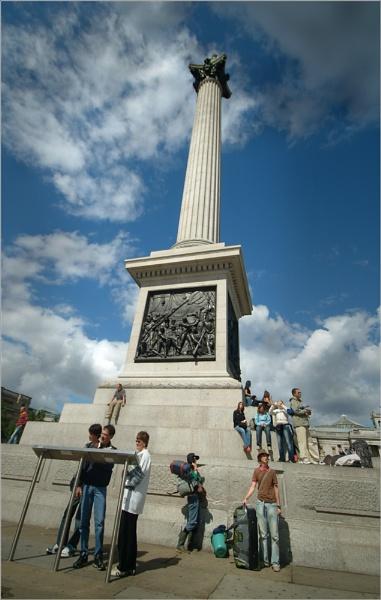 Trafalgar Square by Kim Walton