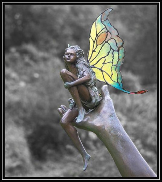 Bronze Statue by ronr