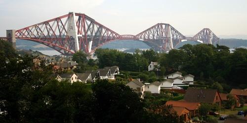 Forth Rail Bridge by v_equals