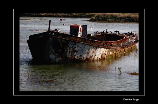 The Derelict Barge by NickCoker