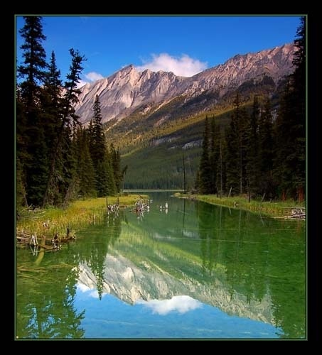 Candian Rockies Reflections by OPHITE_ZONE