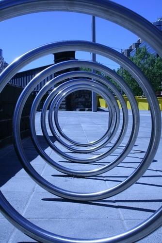 Melbourne Bike Rack by Nickers