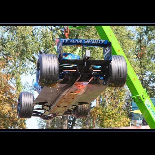 Flying F1 Car by blackett