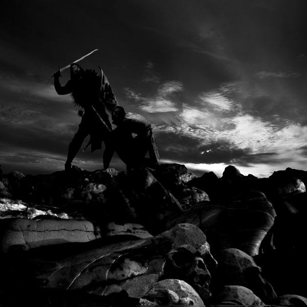 Battle for Skull Rock by martinduke