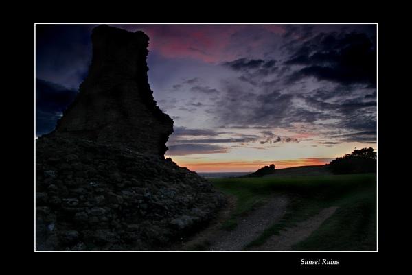 Sunset Ruins by NickCoker
