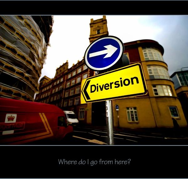 Where do I go now? by redstag