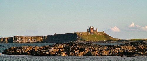 Dunstanburgh Castle by terra