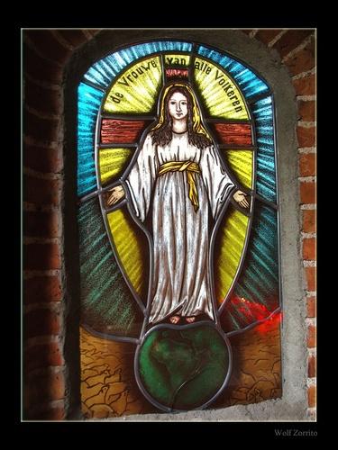 Window in chapel by Zorrito