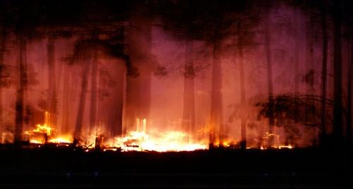 bushfire by agmcbride