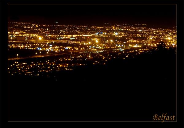 Belfast at Night by Pav