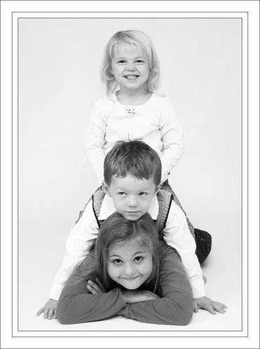 triple kids by sarac