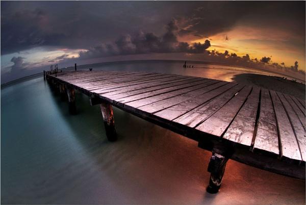 Isla Pier by BURNBLUE