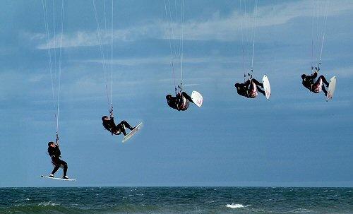 Kitesurfer by terra