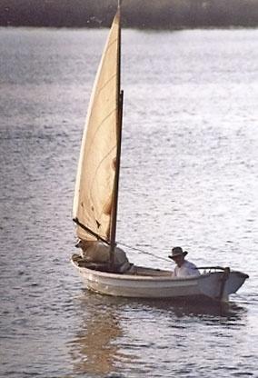A man, his dog, his boat by tarara