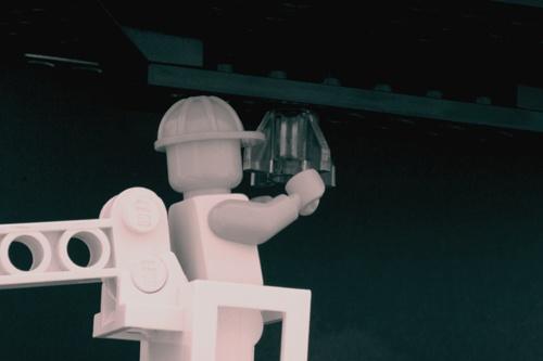 Lego Film Studio Lighting by Teessider