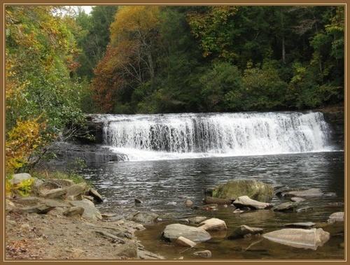 Hooker Falls by AngelaB