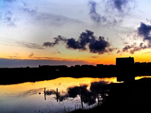 Benbecula Sunset by Finlayoman