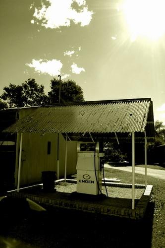 Old petrol station by kerri84