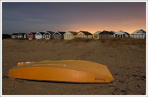 Moonlit Beach by justin c