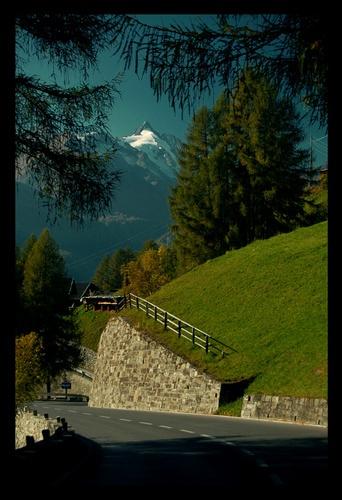 Mountain road by Ferdie
