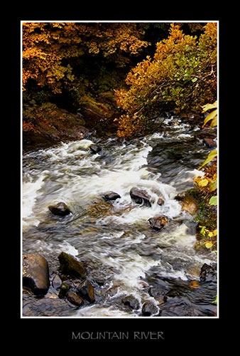 Mountain River by KenV