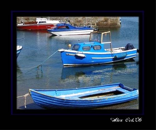 blue boats by Alex_M