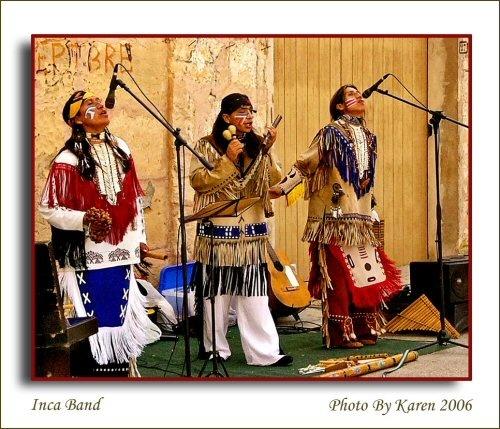 Inca Band by mandarinkay