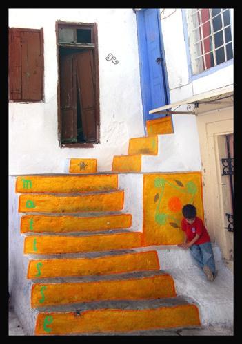 Greek Steps by mcgoo