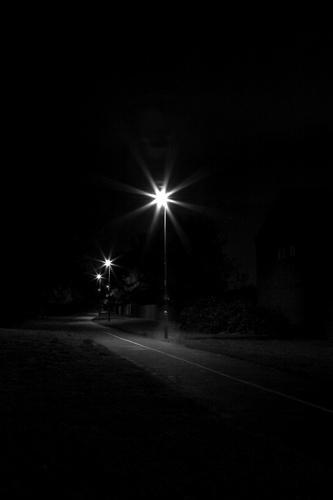 darkened path by curlyfilm