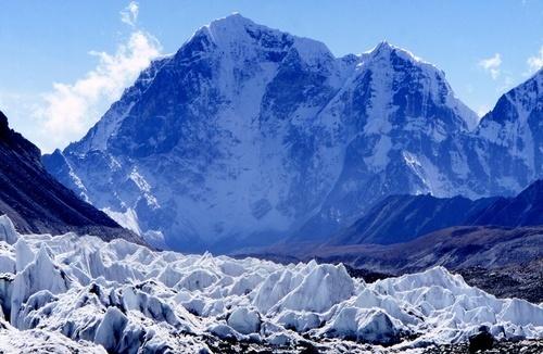Khumbu Icefall by Falconer