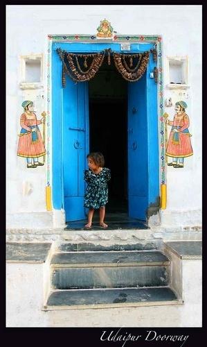 Udaipur Doorway by Kali