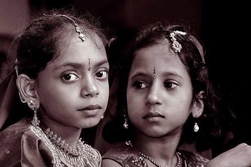 Little Bollywood girls by Kali