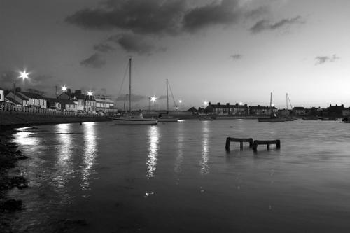 Skerries Harbour B&W by stano
