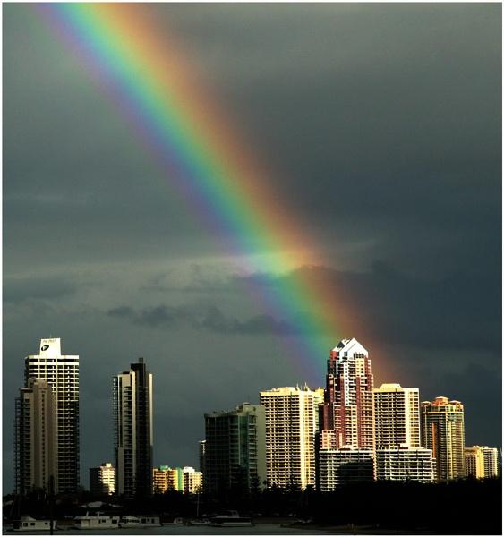 The Gold Coast Rainbow by Anastasia
