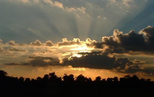 Sunset by oldbiddy