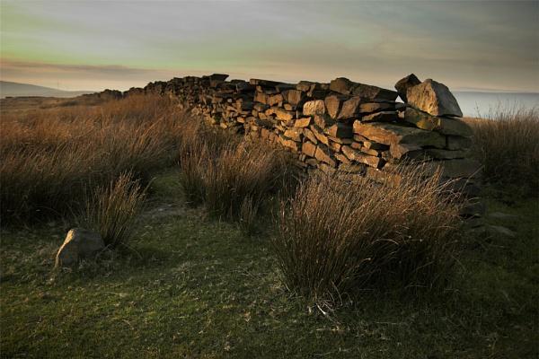 Moorland Wall by backbeat