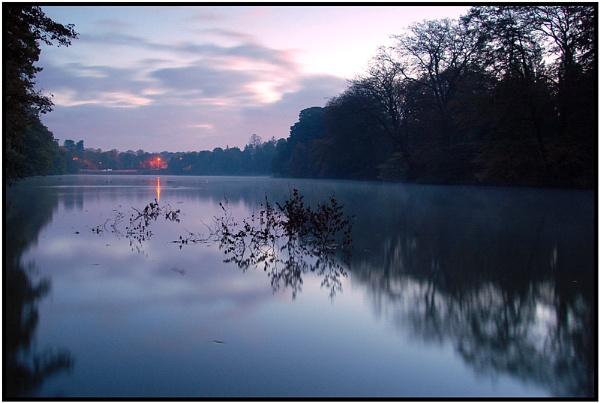 Lymm Before Sunrise by wamp