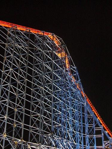 The Big One Blackpool At Night by chensuriashi