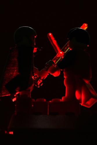 Lego Jedi Battle by Teessider