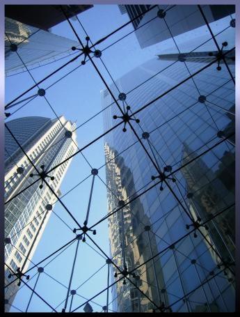 Glass ceiling 2 by Skye24Blue