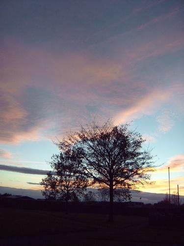 Sunset over Hetton by thebleezer