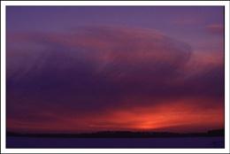 Sunset Finland.