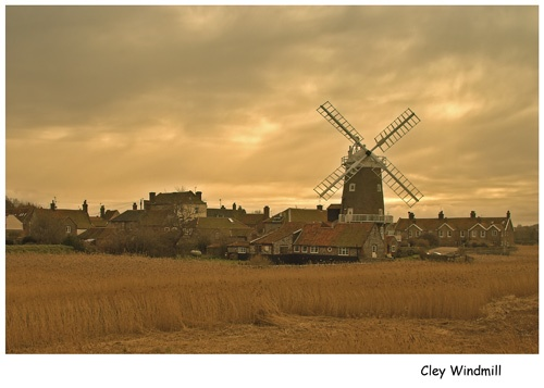 Cley Windmill by vfr400
