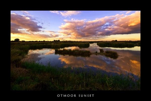 Otmoor sunset by javam