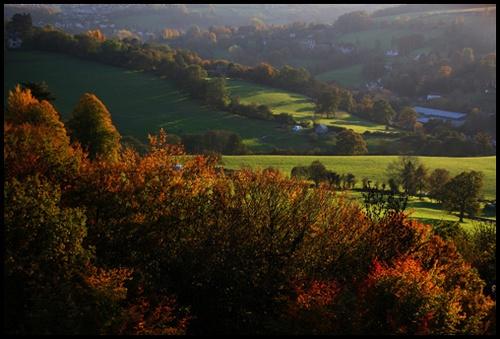 Autumn Evening by Jon_Iliffe