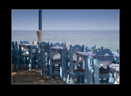 restaurant seats by SmileySteve