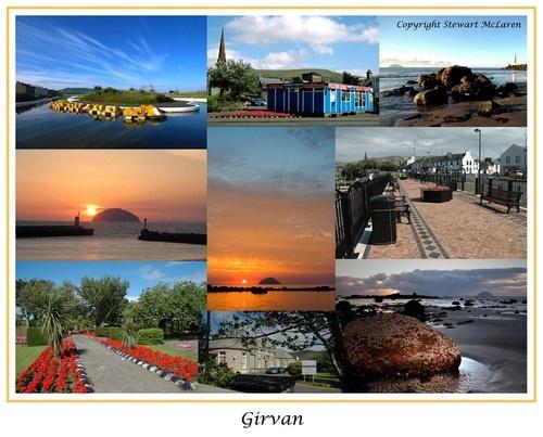 Girvan Postcard by LumpyMM1