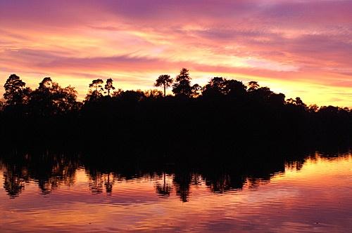 Southlake Sunset 5 Nov 06 by tenter