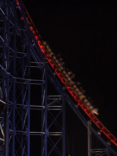 Blurred Blackpool Big One by chensuriashi