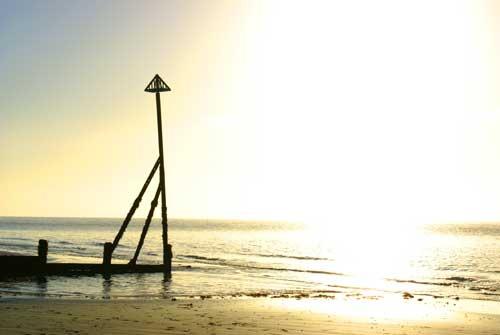 Beach At Sunset by alex92